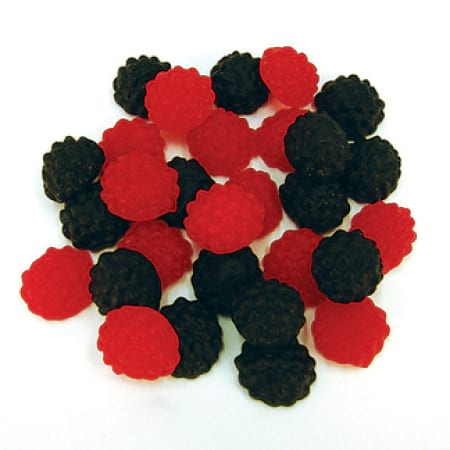 Raspberry & Blackberrys 100g