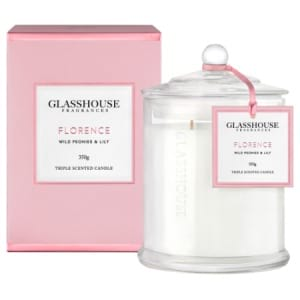 Florence 350g Candle Wild Peonies & Lily